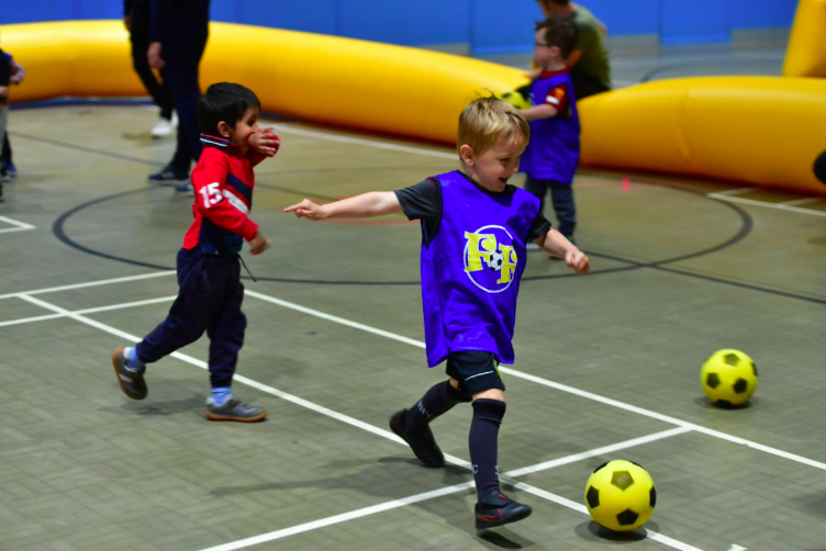 Fun sporting activities hosted for primary school children in Rossendale